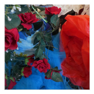 Pôster Poster floral da arte