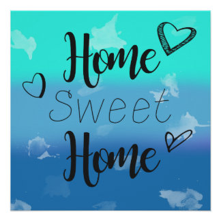 Pôster Poster Home doce Home