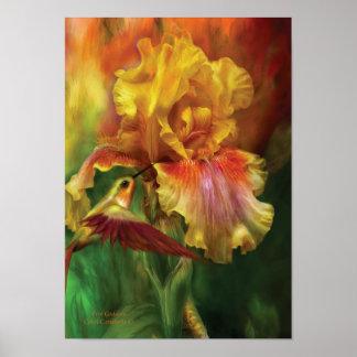 Poster Poster/impressão da arte da deusa do fogo