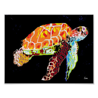 Pôster Poster: Tartaruga de mar