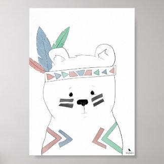 Poster Pouco urso bravo