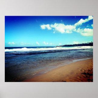 Pôster Praia
