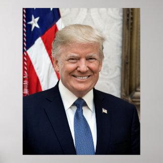 Poster Presidente Donald Trump