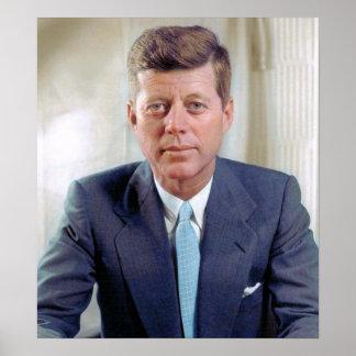Pôster Presidente John Fitzgerald Kennedy