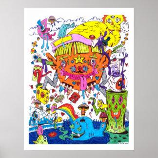 Poster psicadélico #1