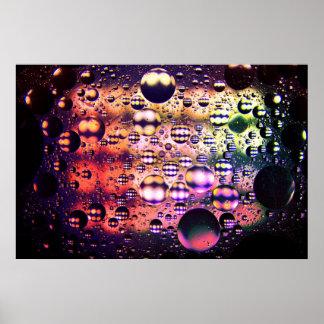 Poster psicadélico abstrato 2