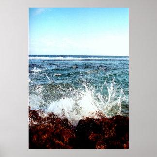 Poster Pulverizador do oceano