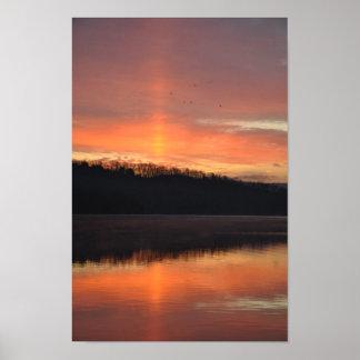 Poster Raio de sol crepuscular