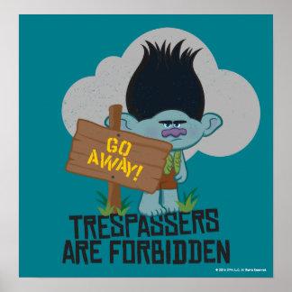 Poster Ramo dos troll | - os Trespassers são proibidos 2
