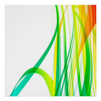 Pôster Redemoinhos coloridos abstratos modernos