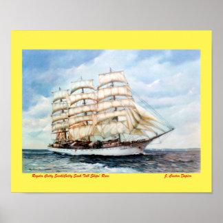 Poster Regata Cutty Sark/Cutty Sark Tall Ships' Race