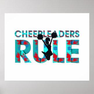 Pôster Regra SUPERIOR dos cheerleaderes
