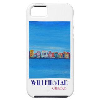 Poster retro Willemstad Curaçau Capa Tough Para iPhone 5