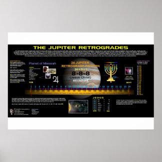 Poster Retrograda de Jupiter