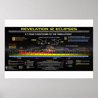 Poster Revelação 12 - Teste padrão do eclipse