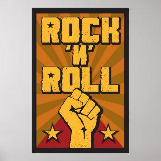 Posters de Rock n Roll na Zazzle