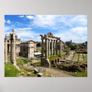 Poster romano do fórum