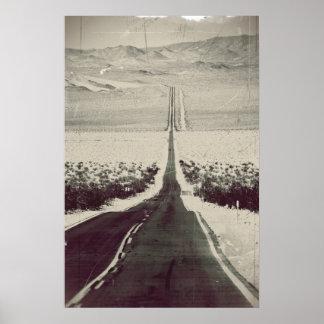 Pôster Rua à Death Valley