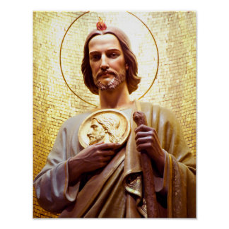 Pôster Rua Jude Thaddeus, santo padroeiro do impossível