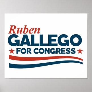 Poster Ruben Gallego