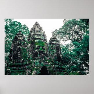 Pôster Ruínas de Angkor
