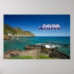 Poster Santa Maria - Açores
