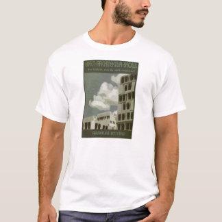 Poster semana de arquitetura camiseta
