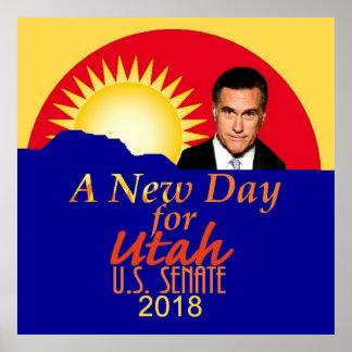 Pôster Senado 2018 de Mitt Romney