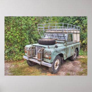 Poster Série III 109 de Land Rover