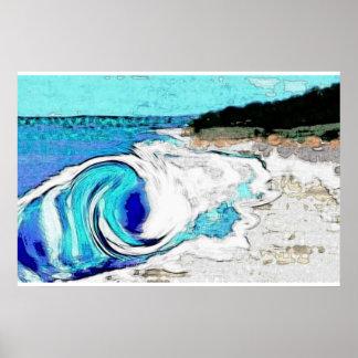 Poster Shorebreaker