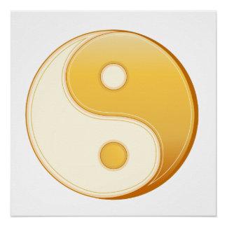 Pôster Símbolo do taoísmo