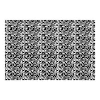 Pôster simetria infinita