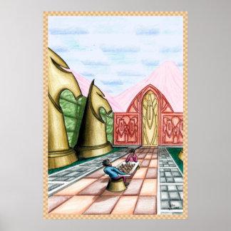 Poster Sonho com xadrez