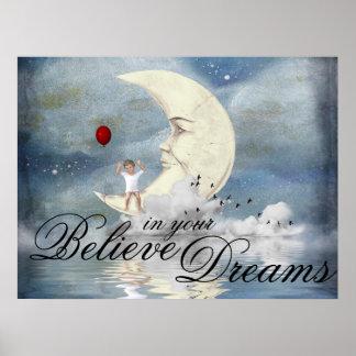 Pôster Sonhos