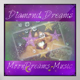 Pôster Sonhos do diamante