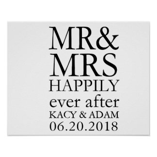 Poster Sr. e Sra. Sinal