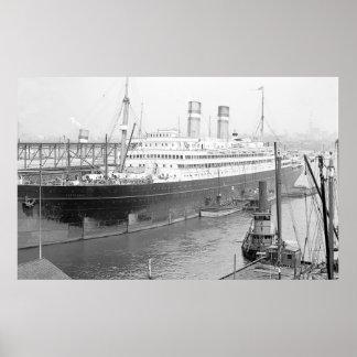 Poster SS Rotterdam