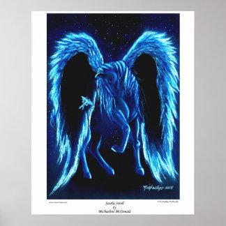 Poster Starlit de Pegasus do Stroll