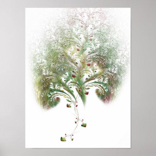 Pôster Strawberry Tree Fractal