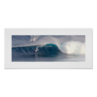 Pôster Surf de Maui do ~ das maxilas
