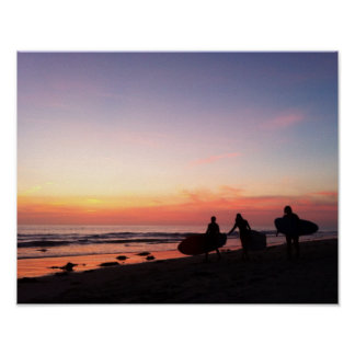 Pôster Surfistas de San Diego