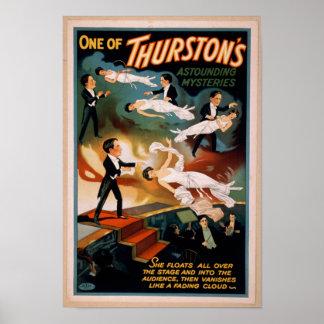 Poster surpreendente da mágica dos mistérios de