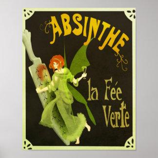 Poster Taxa Verte do la do absinto