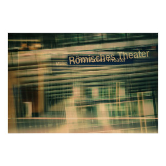 Pôster Teatros Romanos