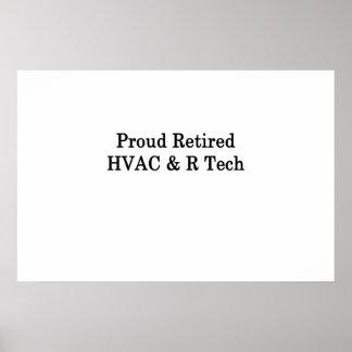 Pôster Tecnologia aposentada orgulhosa da ATAC R