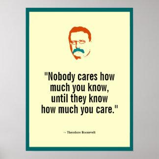 Pôster Teddy Roosevelt