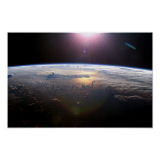 Pôster Terra bonita Yuri Gagarin