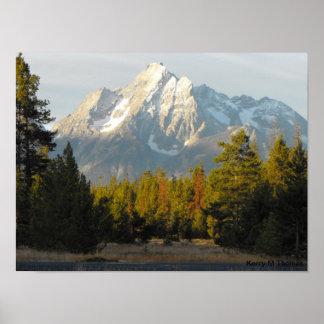 Pôster Tetons grande Wyoming