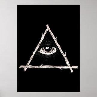 Pôster Todo o olho de vista