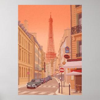 Poster Torre Eiffel Paris